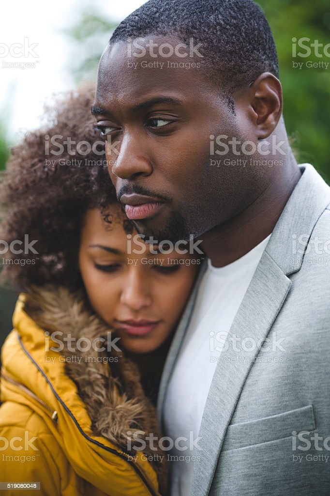 Troubled Relationship stock photo