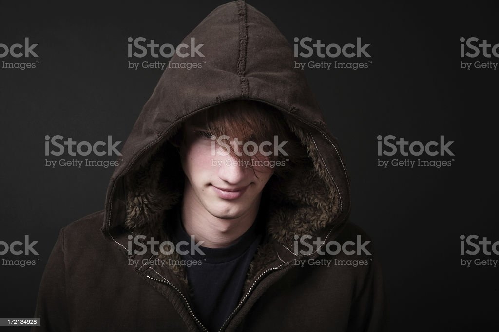 Troubled Teen royalty-free stock photo