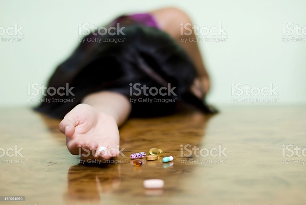 Troubled Youth stock photo