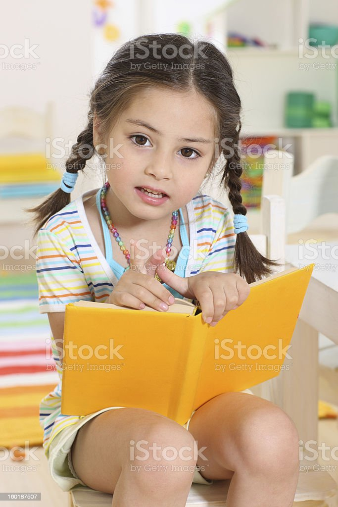 troubles for reading royalty-free stock photo