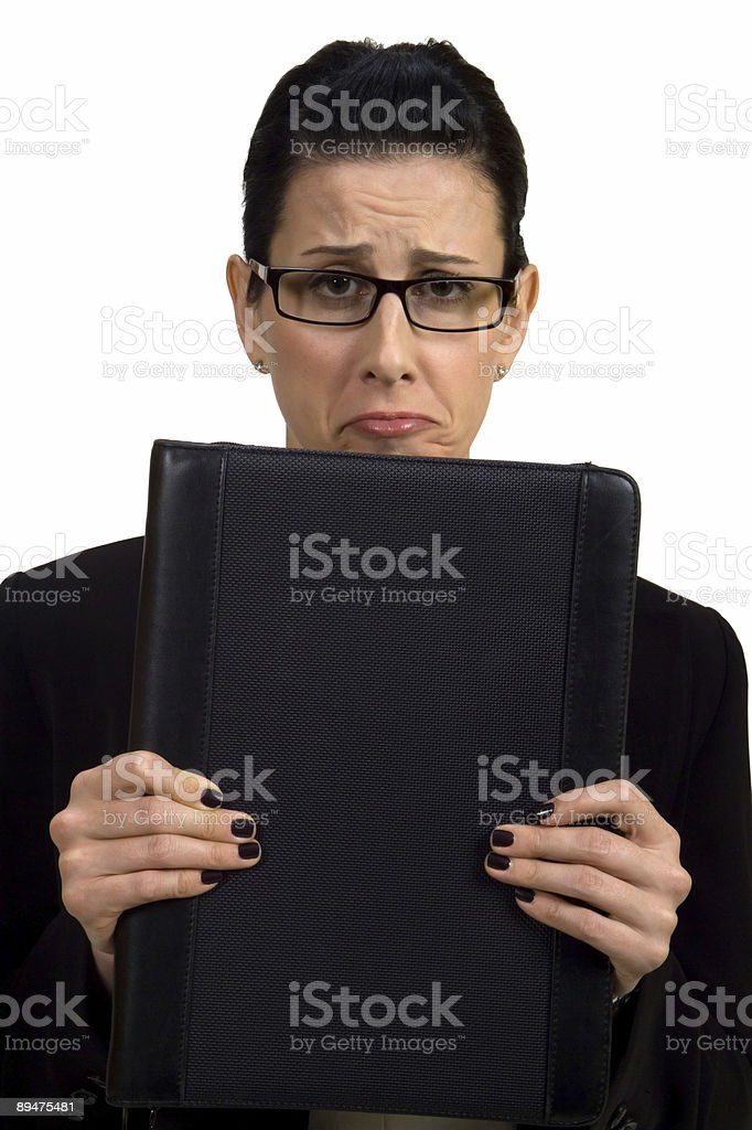Troubles royalty-free stock photo