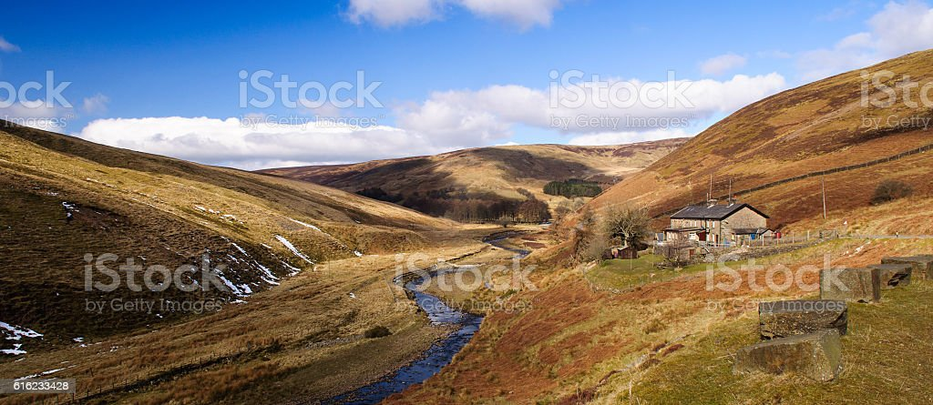 Trough of Bowland stock photo