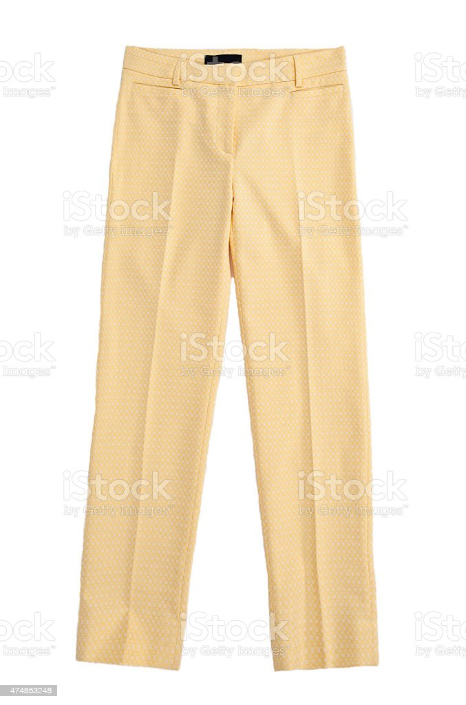 trousers isolated stock photo