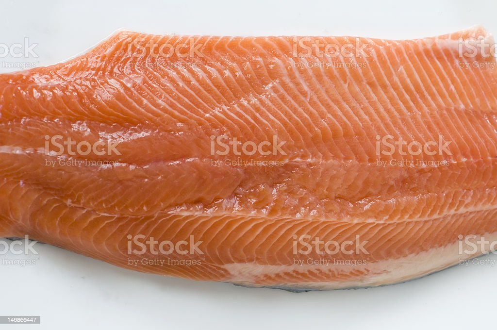 trout belly stock photo