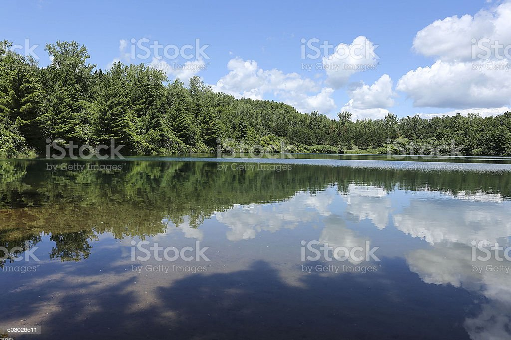 Trout Lake stock photo