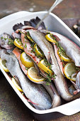 Trout Ready for Grill