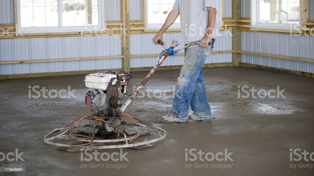 Trowel Machine royalty-free stock photo