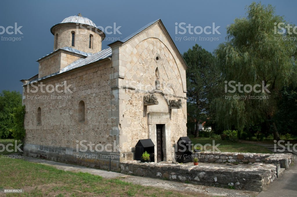 Trska Crkva - Trska Church stock photo
