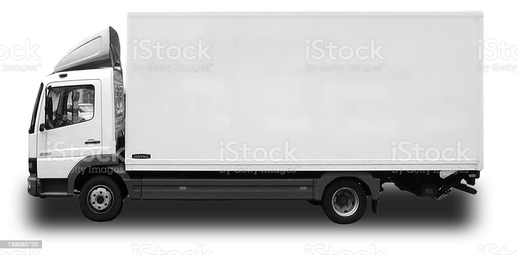Truck 7,5 tons royalty-free stock photo