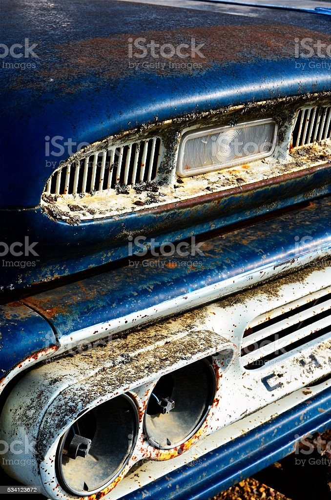Truck Abstract stock photo