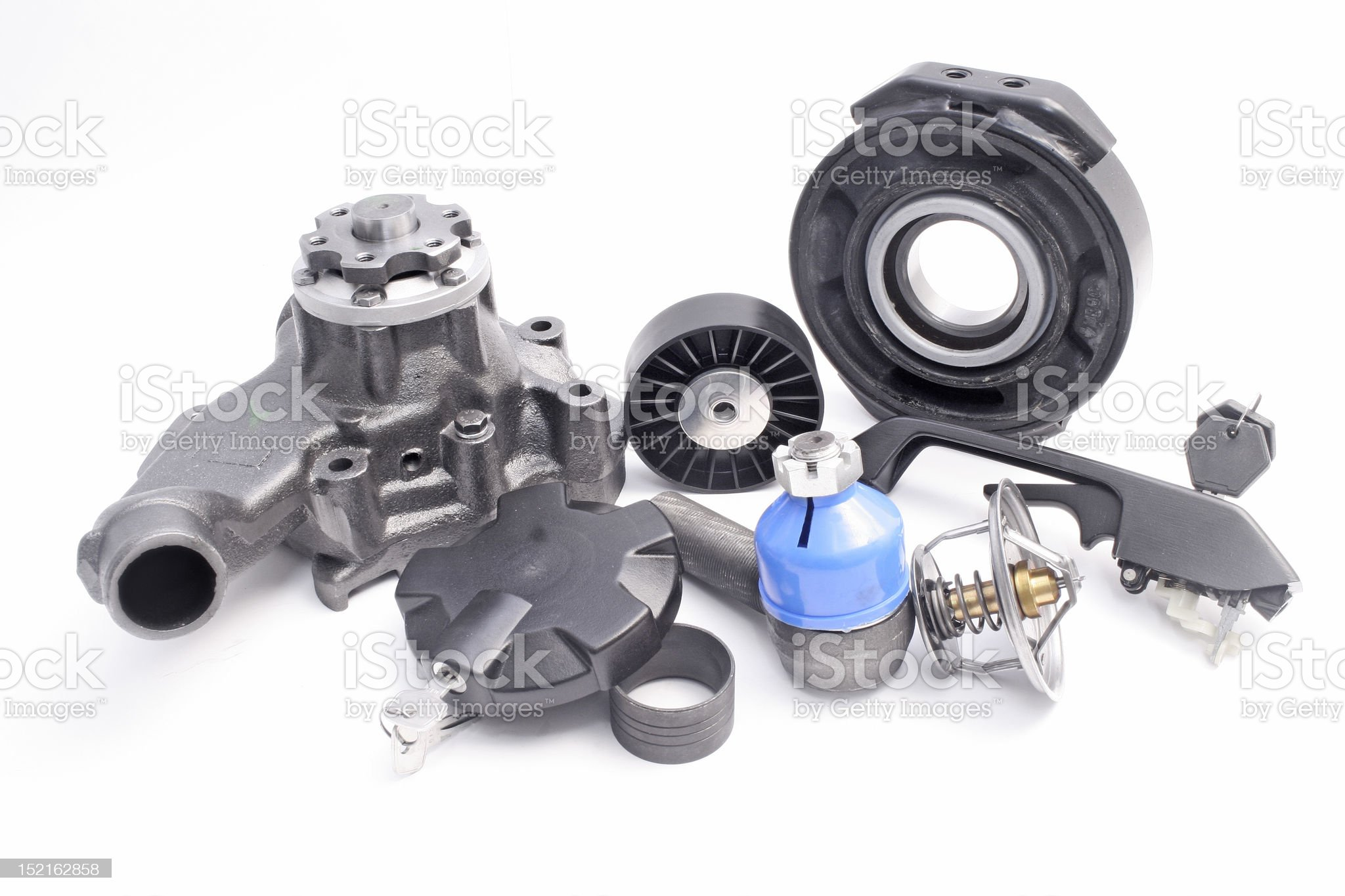 truck and car parts royalty-free stock photo