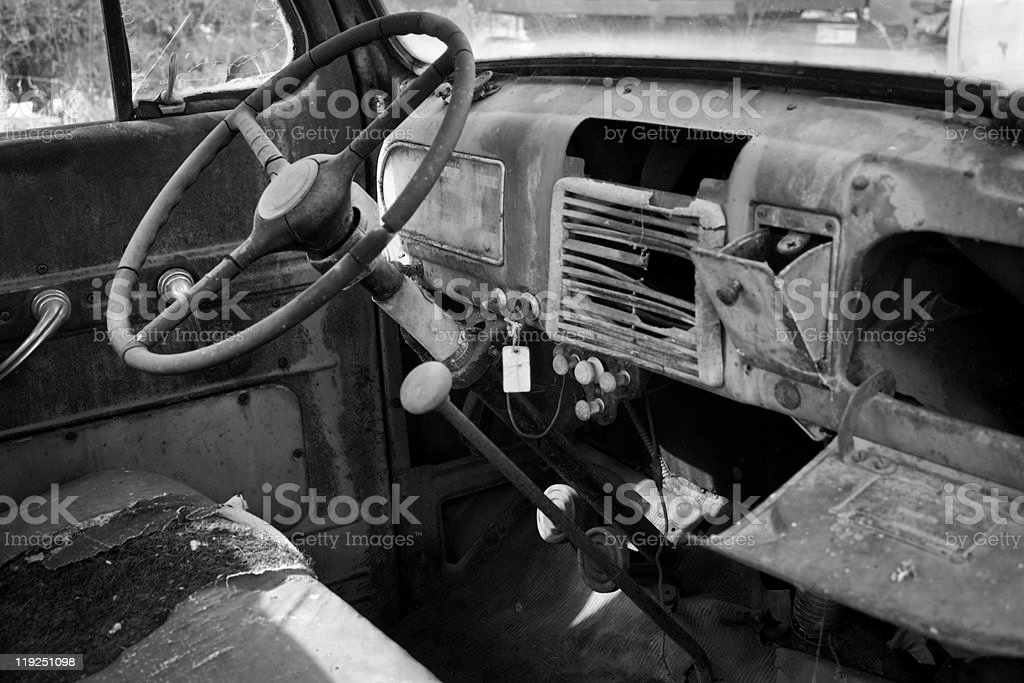 Truck Cab royalty-free stock photo