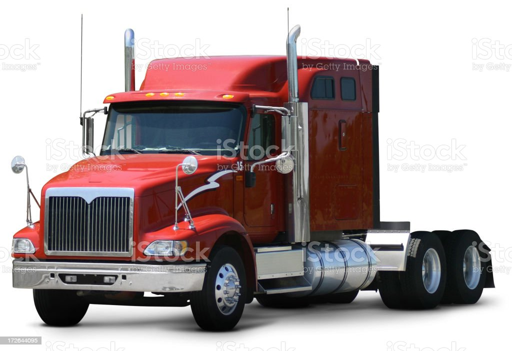 Truck Cab stock photo