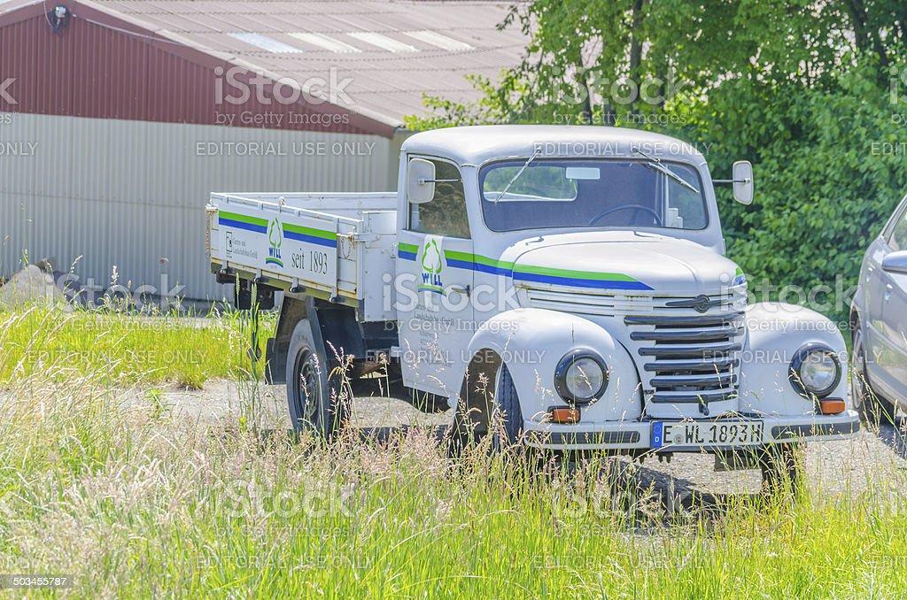Truck, classic car,  Barkas V 901/2; stock photo