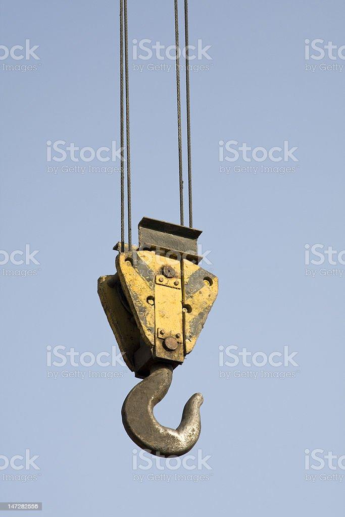 truck crane stock photo