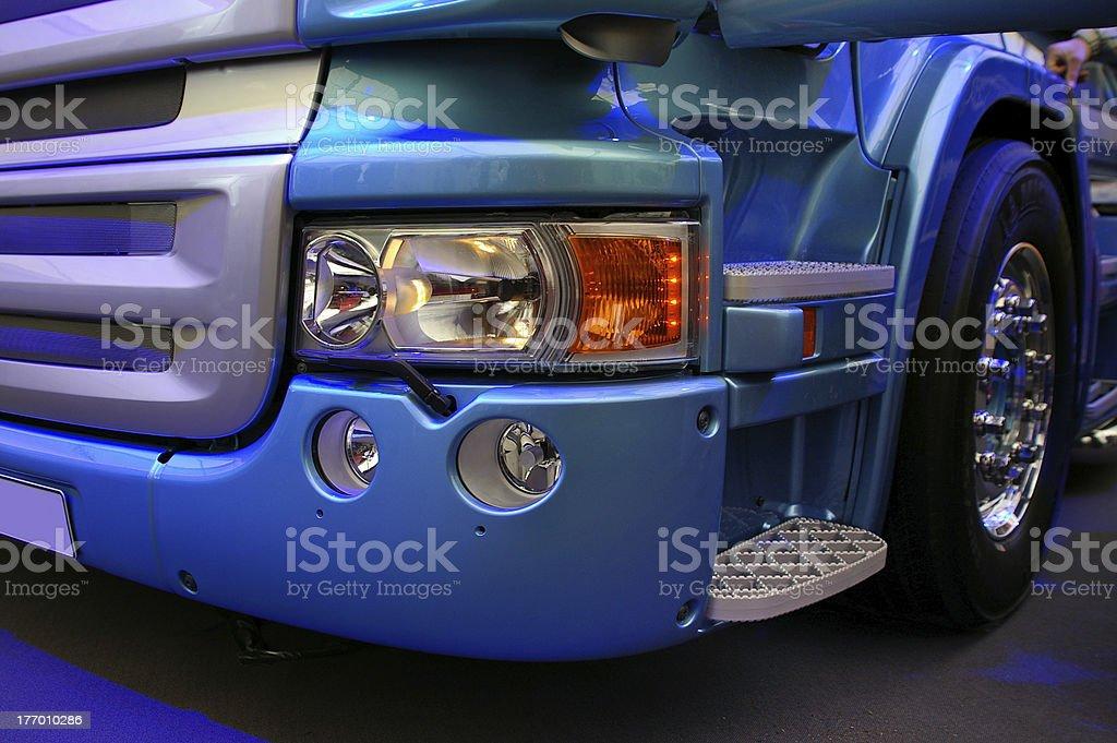 truck details stock photo