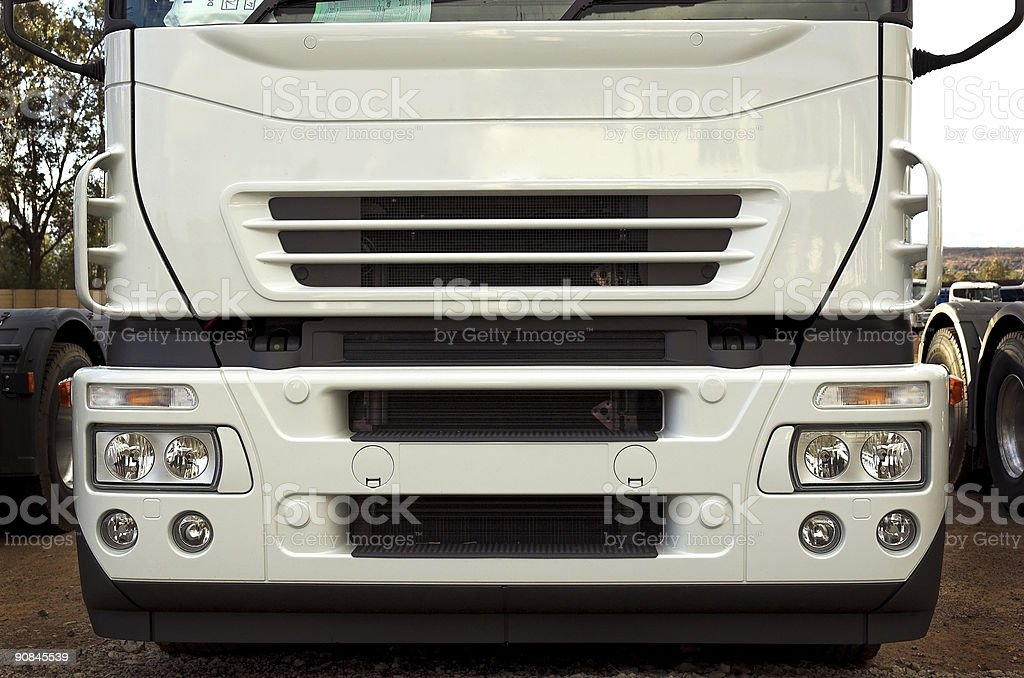 Truck Front royalty-free stock photo