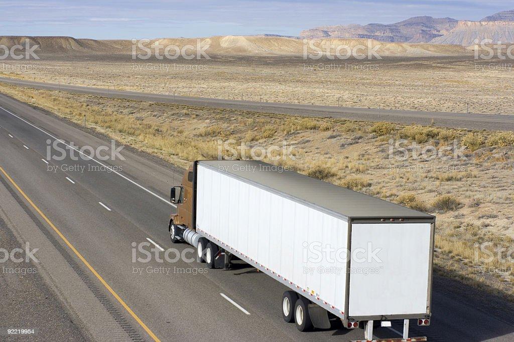 Truck in Utah stock photo