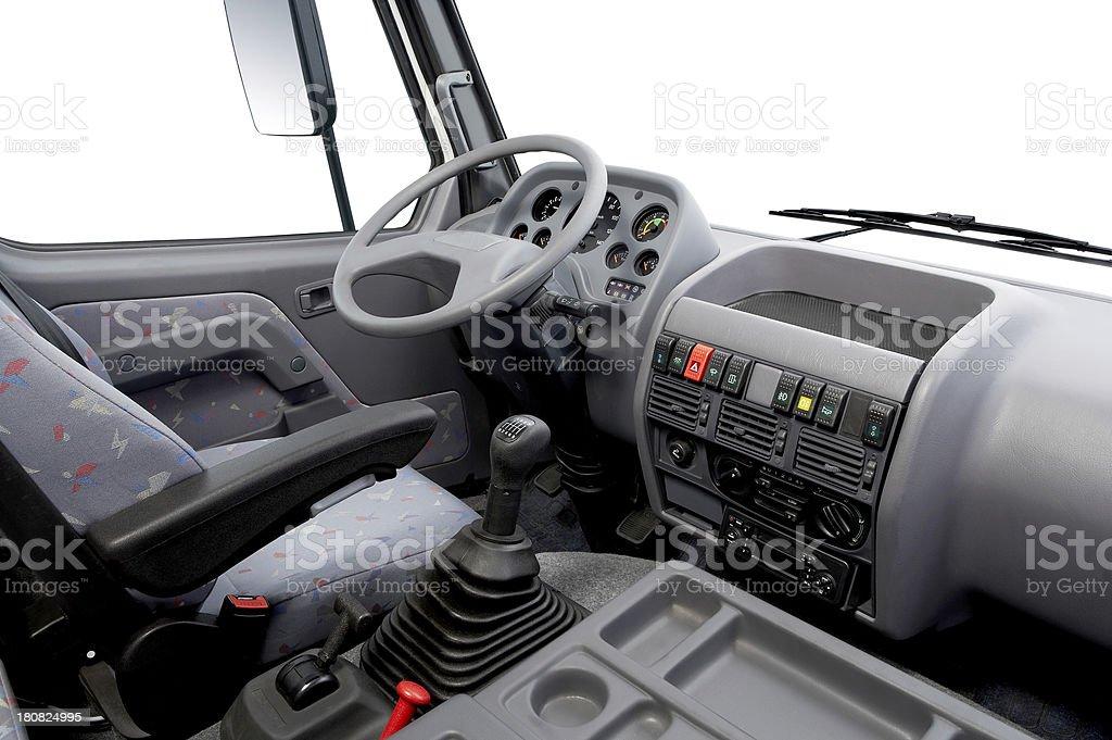 Truck Interior stock photo