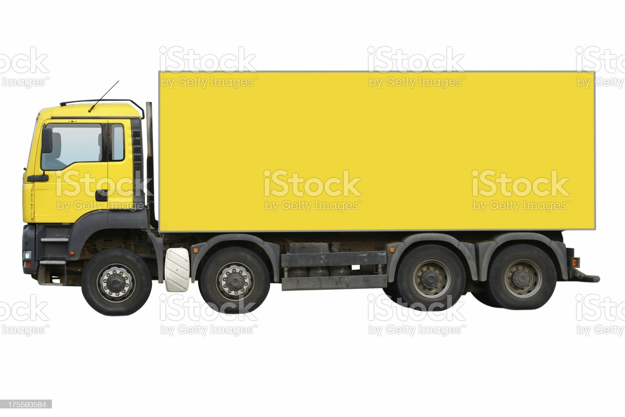 Truck Isolated royalty-free stock photo