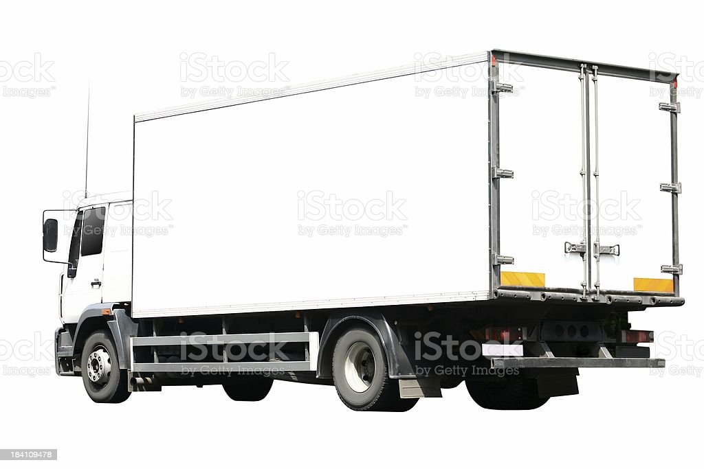 Truck Isolated stock photo