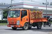 Truck of Provincial eletricity Authority of Thailands.