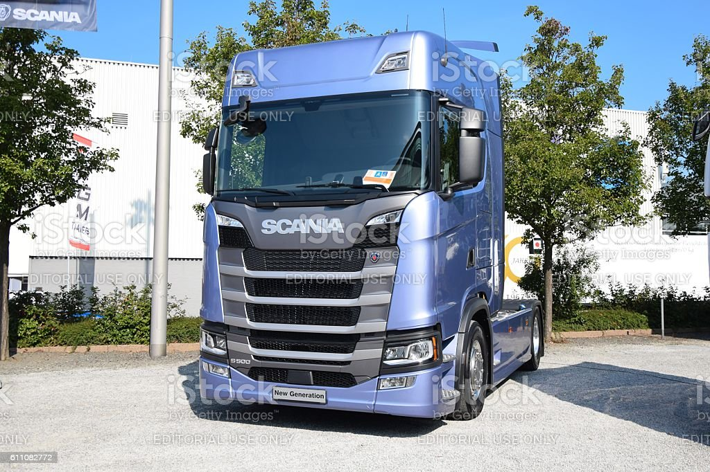 Truck of the Year 2017 - Scania New Generation stock photo