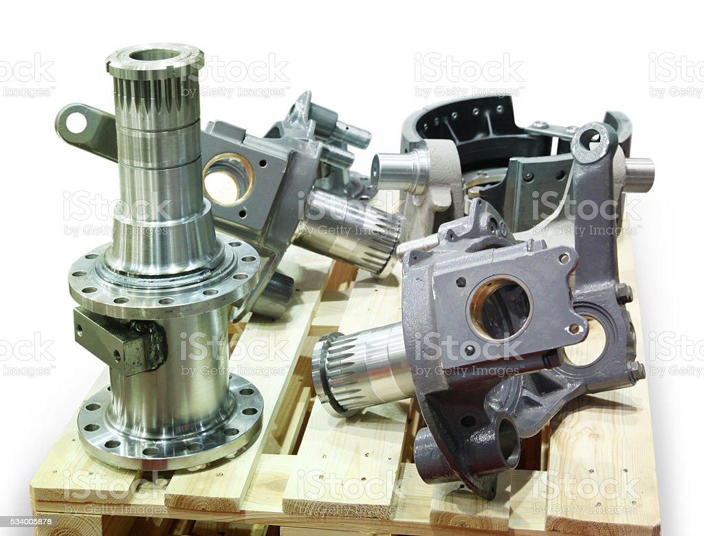 Truck Parts stock photo