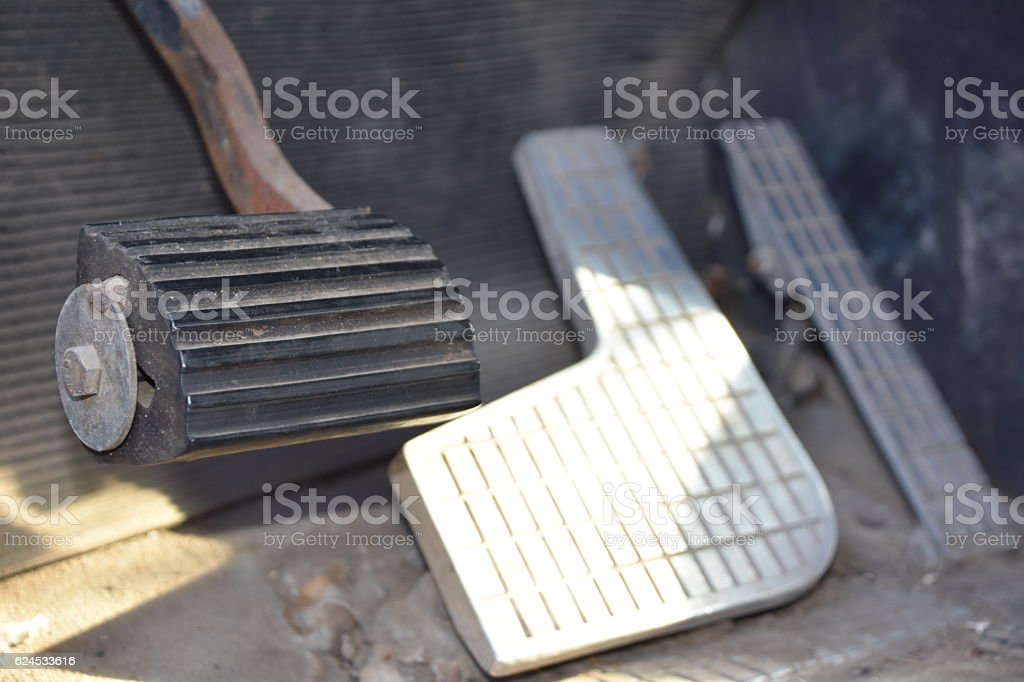 truck Pedal stock photo
