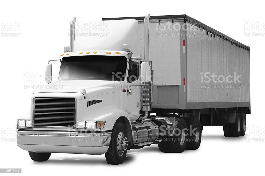 Truck. royalty-free stock photo
