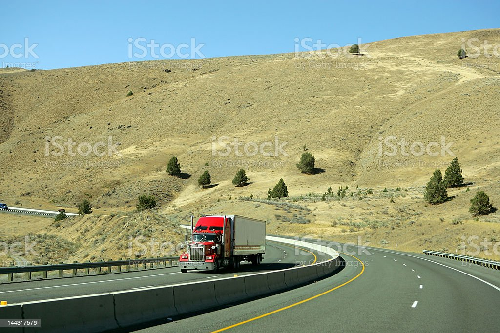 Truck royalty-free stock photo