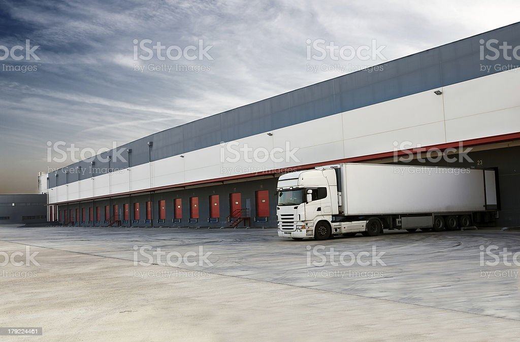 Truck. royalty-free stock photo