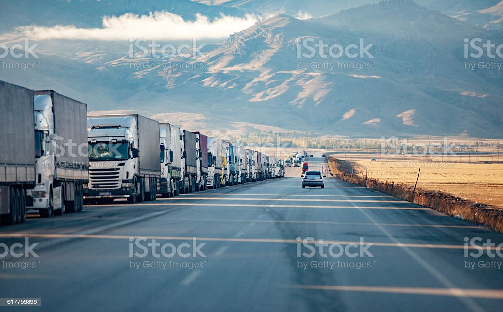 Truck Tail stock photo