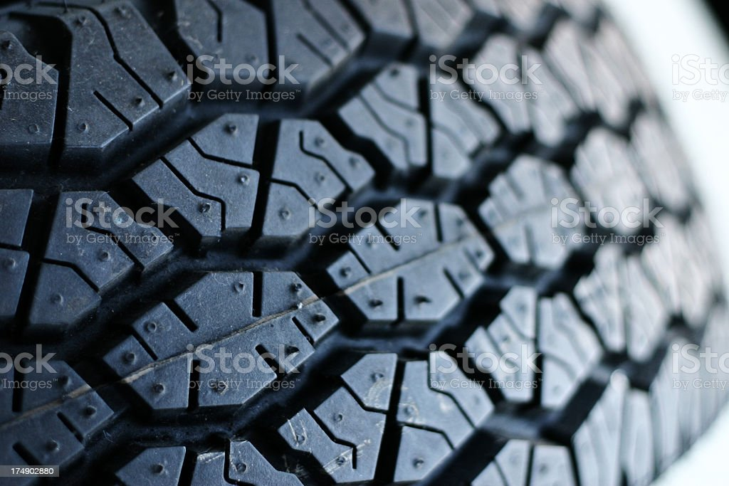 Truck tire stock photo