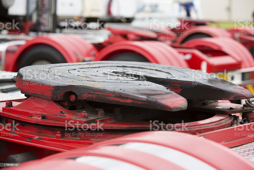 Truck Turntable stock photo