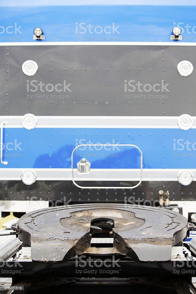 Truck Turntable stock photo
