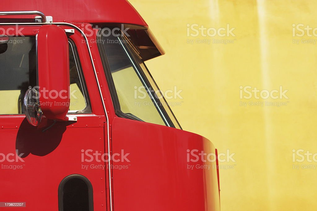 Truck Van Vehicle Car Bodywork stock photo