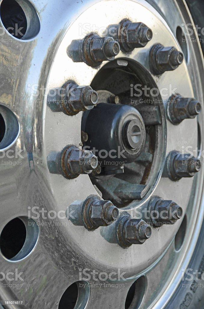 Truck Wheel royalty-free stock photo