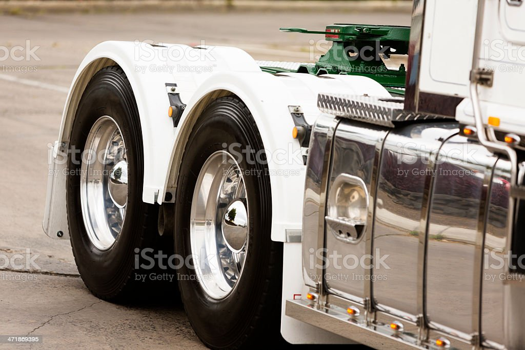 Truck Wheels royalty-free stock photo