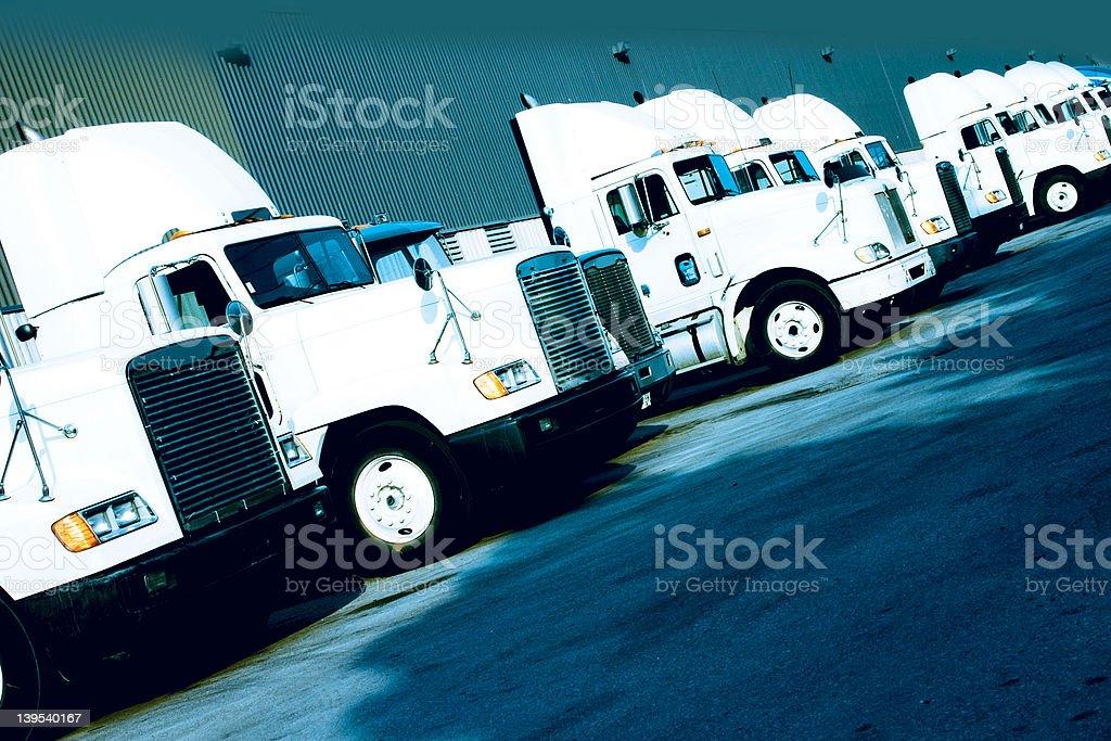 truckfleet011 royalty-free stock photo