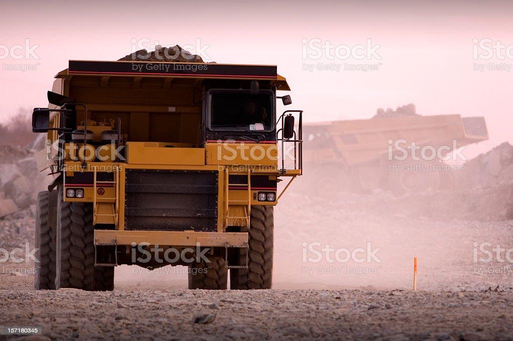 Trucking Fill royalty-free stock photo