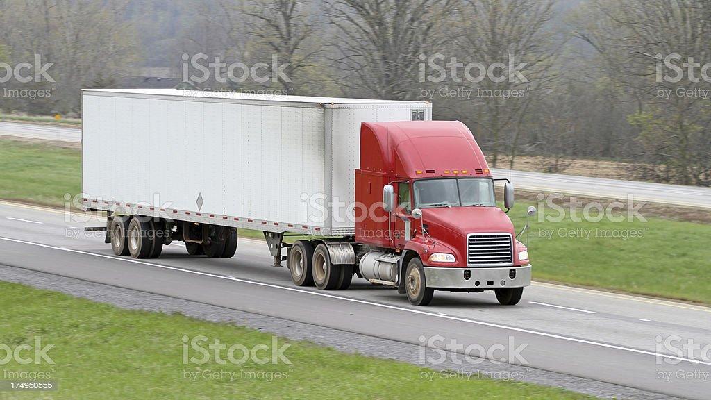 Trucking Freight royalty-free stock photo
