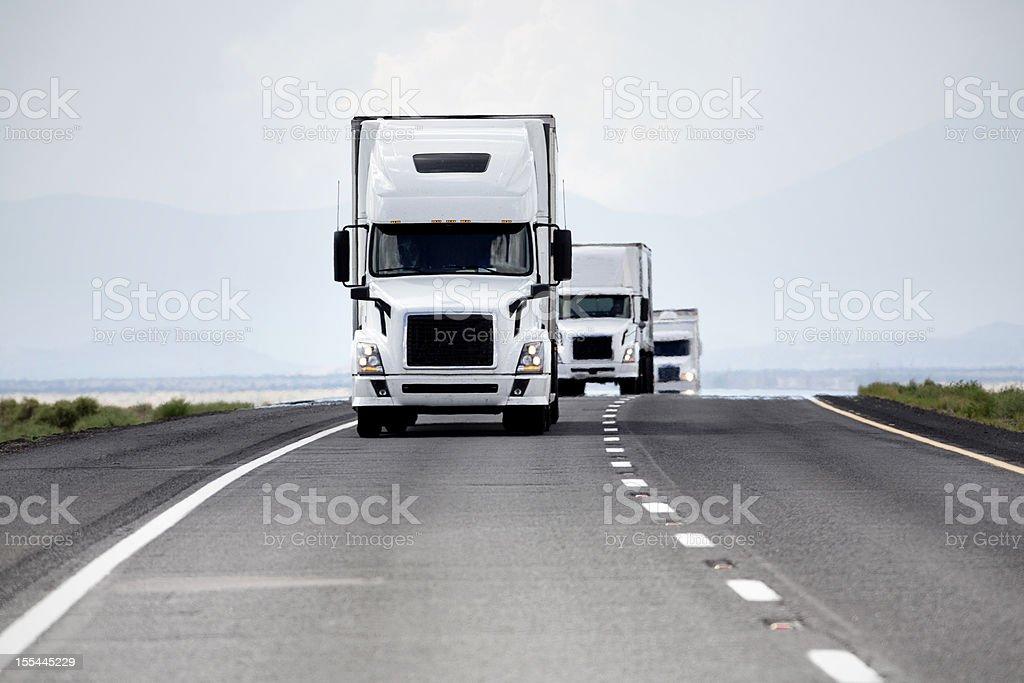 Trucking Industry stock photo