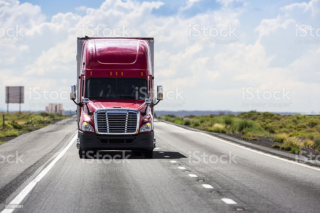 Trucking Industry royalty-free stock photo