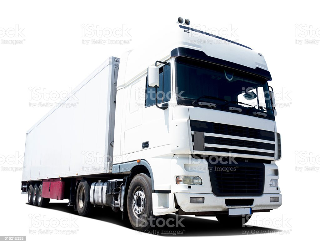 Trucking stock photo