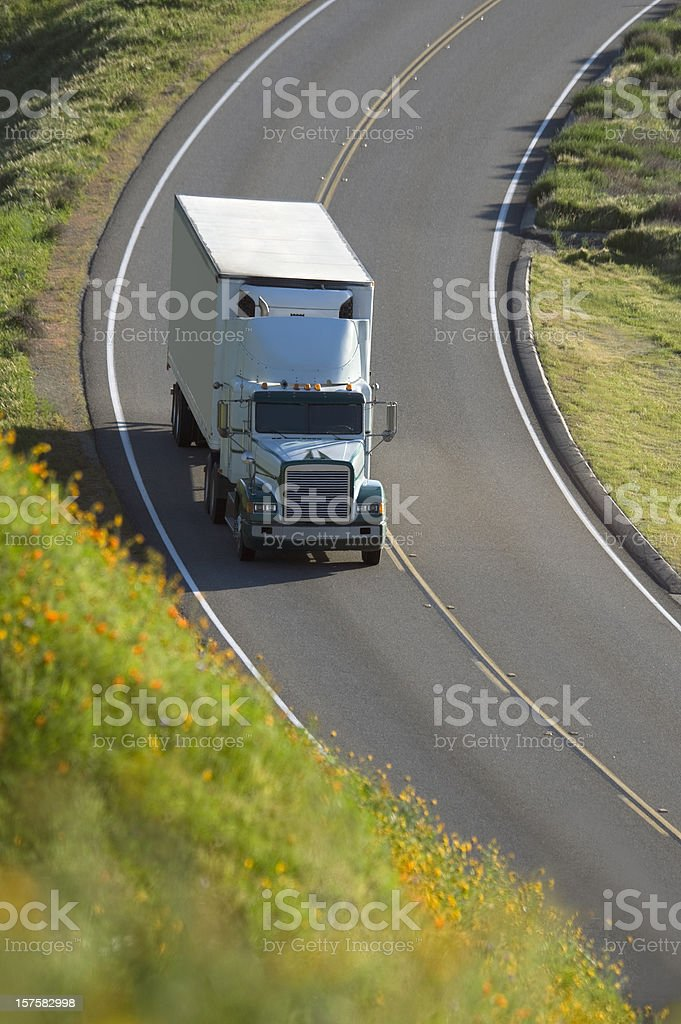 Trucking Transportation stock photo