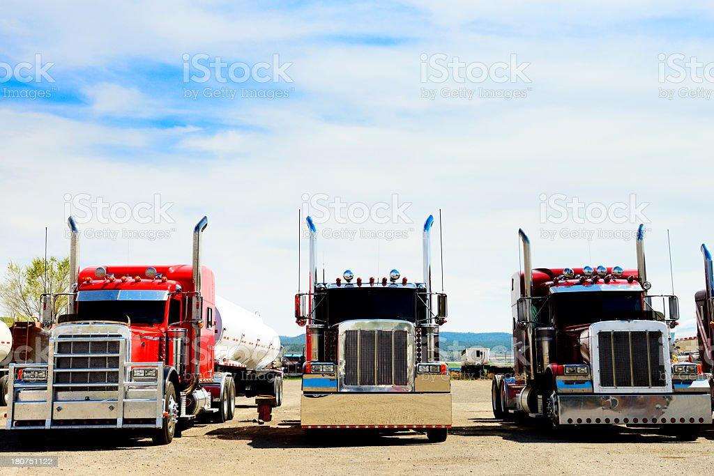Trucks, California stock photo