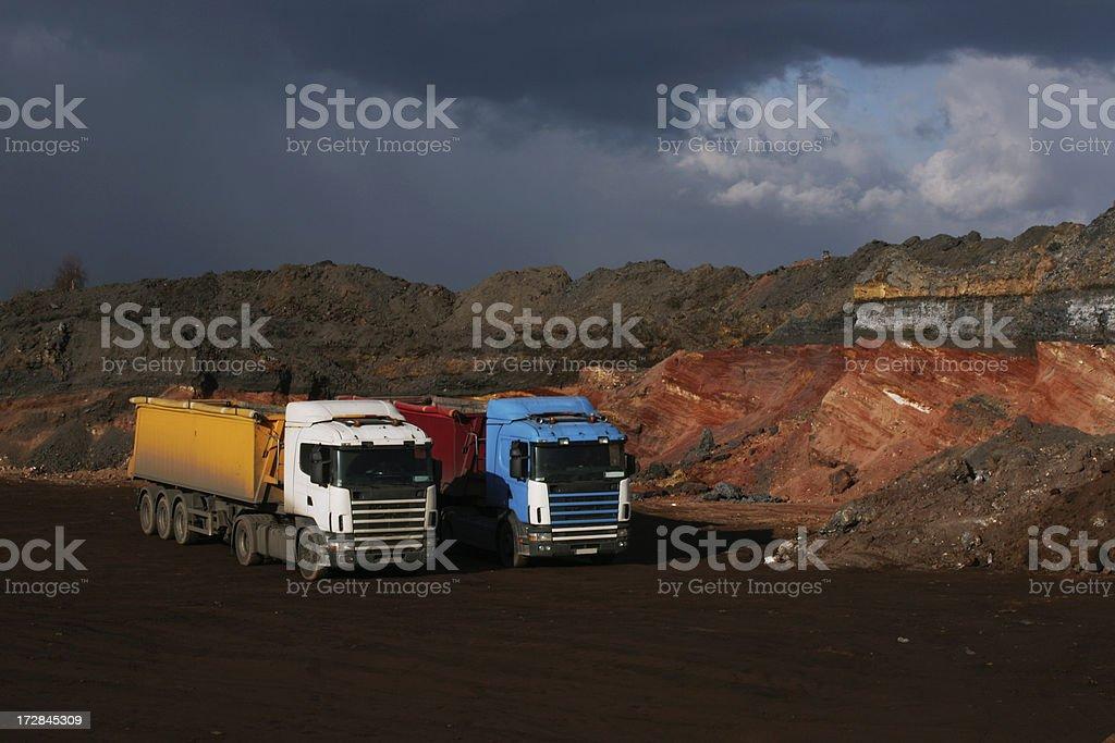Trucks royalty-free stock photo