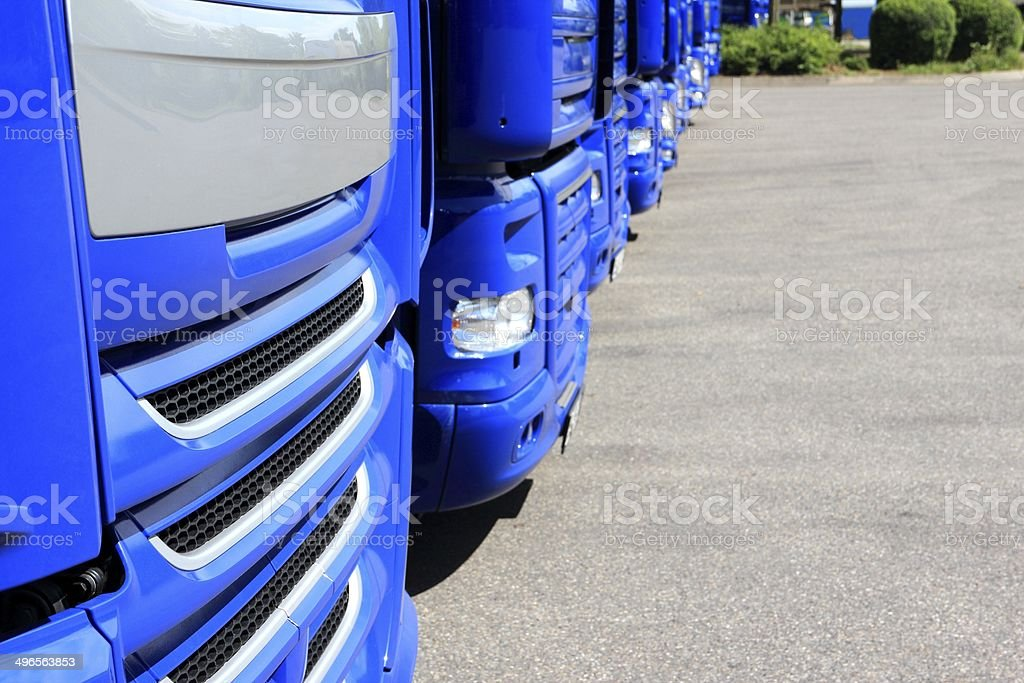 Trucks royalty-free stock photo