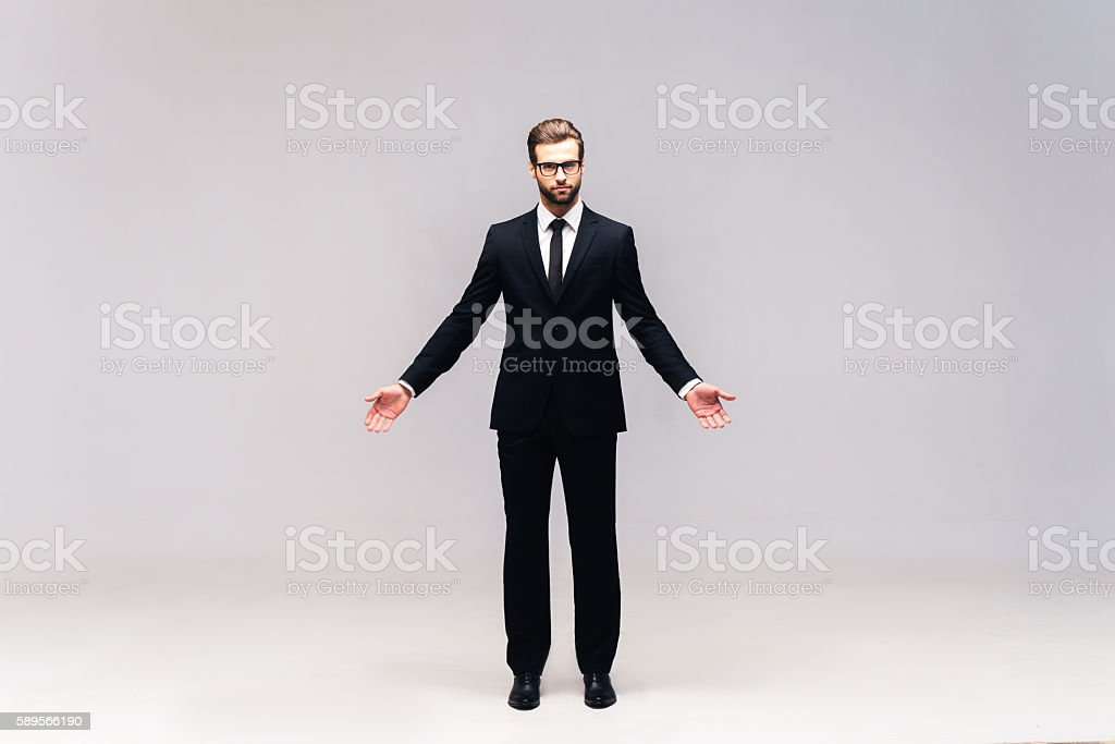 True business. stock photo